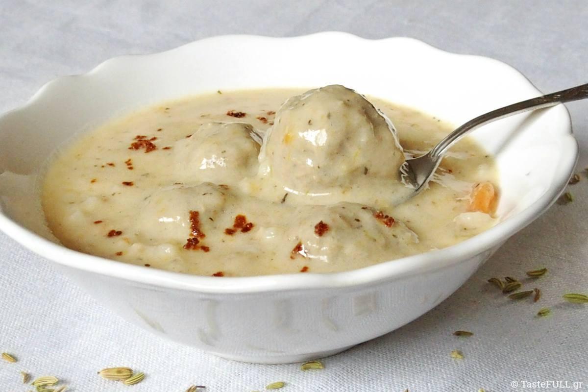 Des recettes traditionnelles de Grèce : Soupe Youvarlakia   DÉCOUVRIR LA GRÈCE
